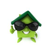 logo Zelené domky